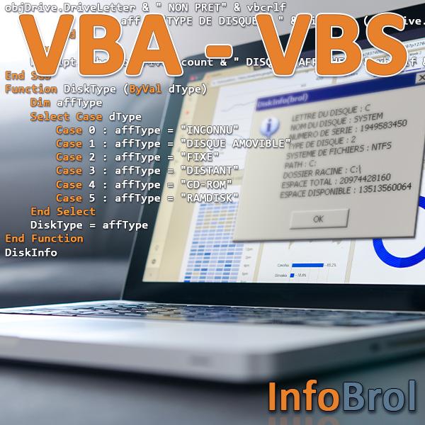 Logo du chapitre VBA - VBS