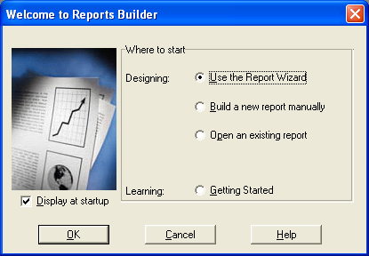 Welcome to Reports Builder
