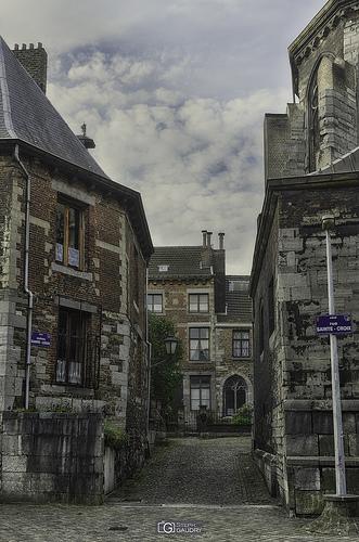 Liège, cloîtres Sainte-Croix