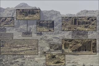 agrandissement des ouvrages de Petra
