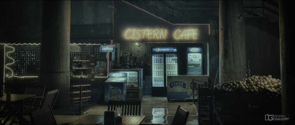 Istanbul - Cistern Cafe