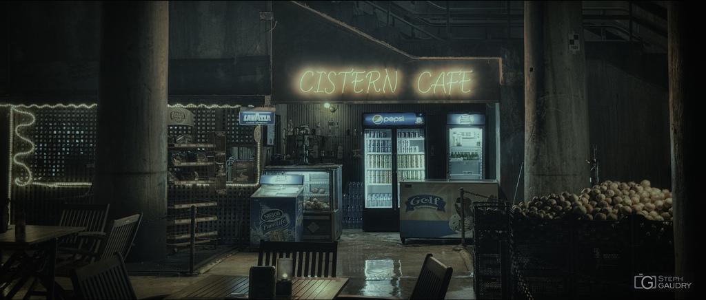 Istanbul - Cistern Cafe