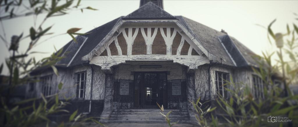 Pavillon abandonné