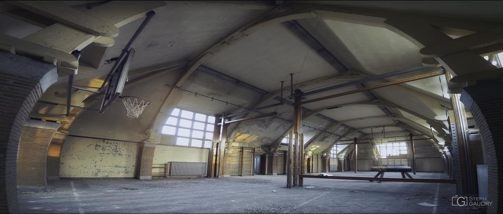 La salle de gym désertée