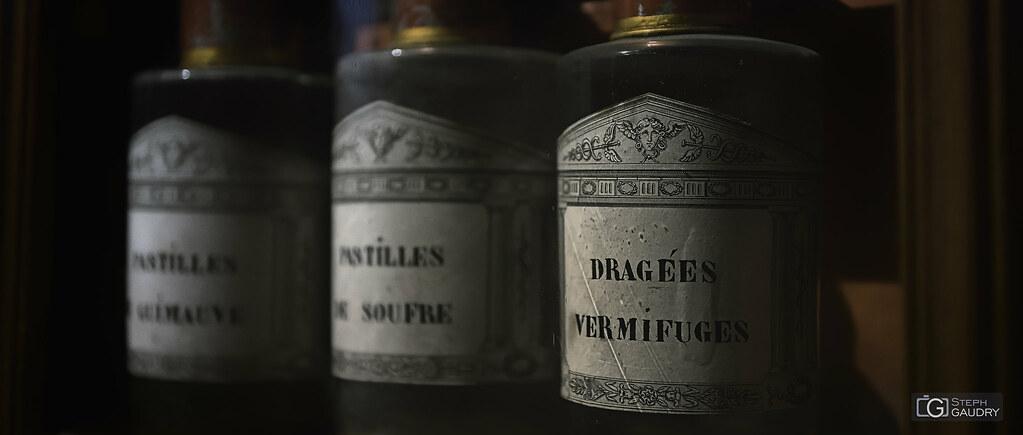 Dragées vermifuges