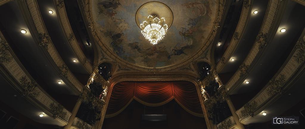 Opéra Royal de Wallonie-Liège - Le plafond