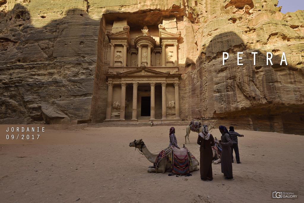 La Khazneh à Petra.