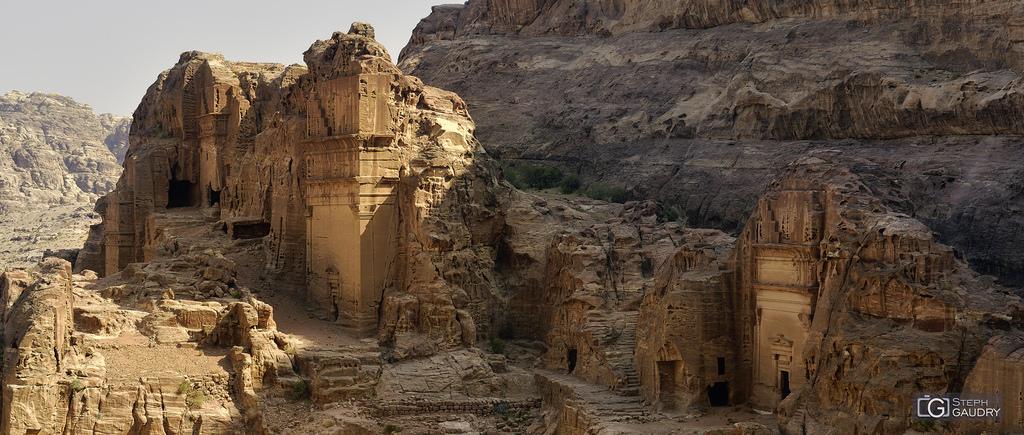 Jordanie, la vallée de Petra