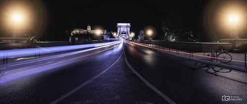 Széchenyi Lánchíd éjszaka