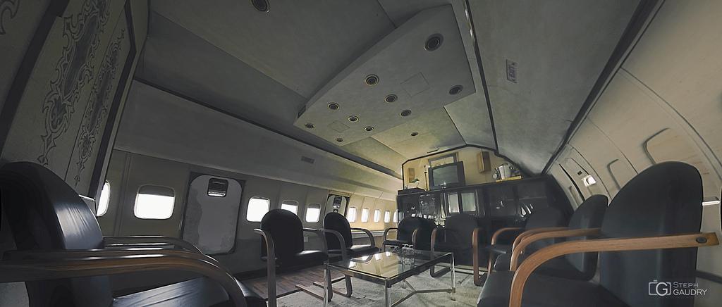 Les nomades du ciel : le salon d'affaires