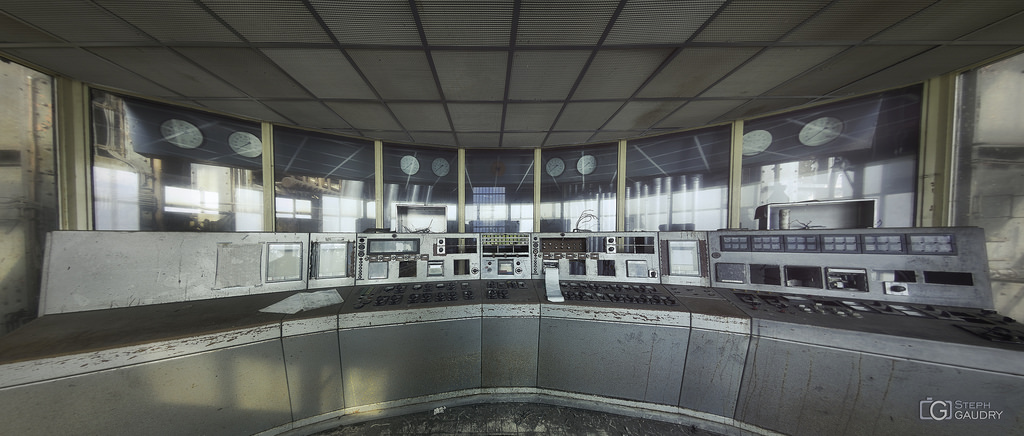 Little grey control room