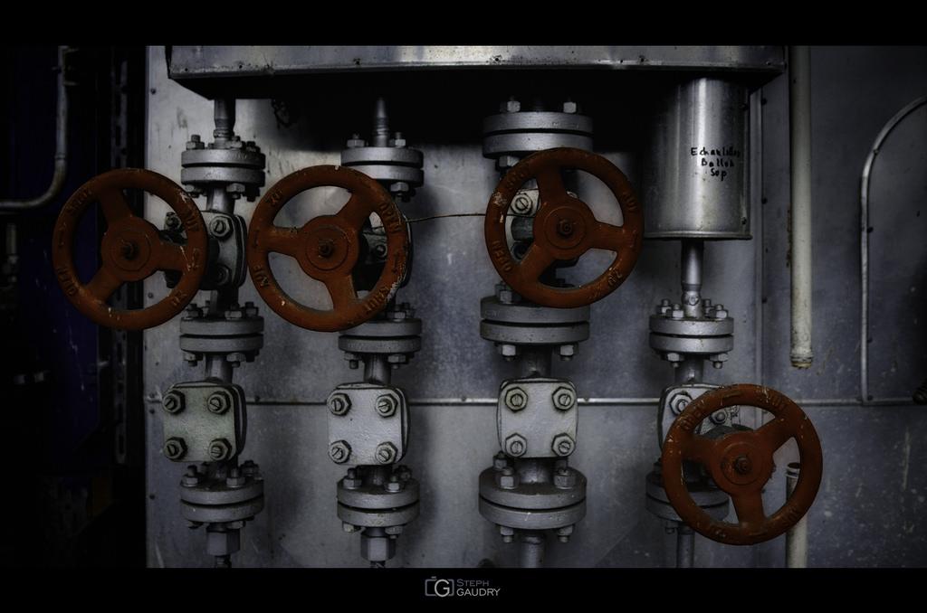 4 Red valves