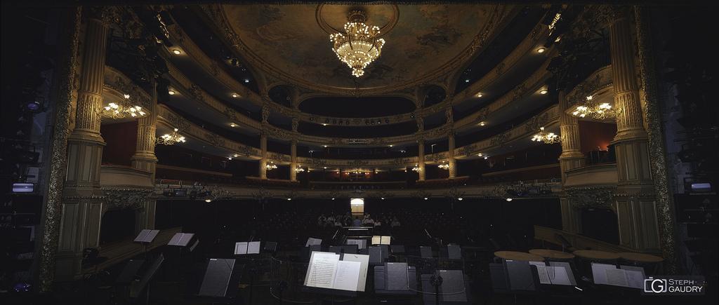 Opéra Royal de Wallonie-Liège - face au public
