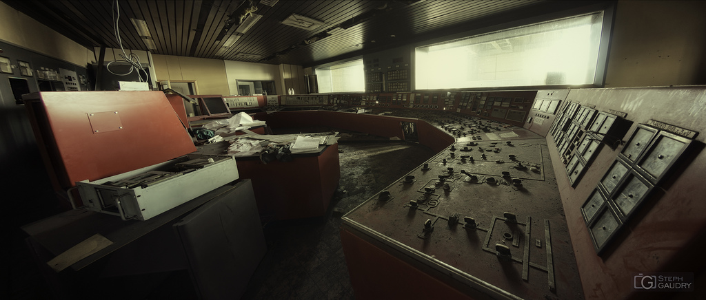 ECVB powerplant - Red control room