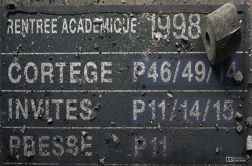 Rentrée académique 1998