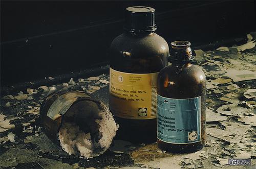 Les ravages de l'acide
