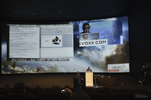 Devoxx - Raspberry Pi demo