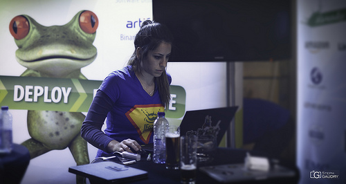 Devoxx 2014 - Deploy the girl, a fairy tale?