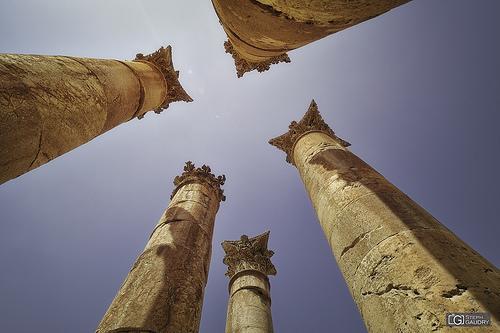 Le ciel de Jerash