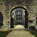 Miniature Abbaye de Villers: Le porche et le narthex