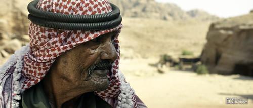 Portrait dans les montagnes d'Edom (JOR)