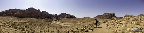 Les tombes royales de Petra - panorama gsm