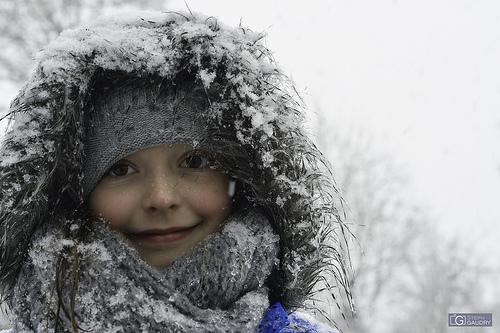 Un sourire dans le froid