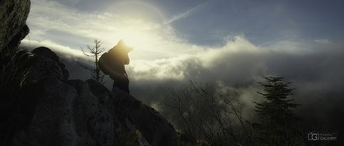 Les aventuriers de la brume. Expédition 2014. Autoportrait en action.