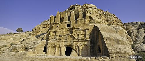 Petra - au début du siq