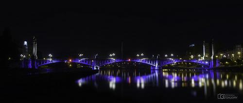 Liège, le pont de Fragnée