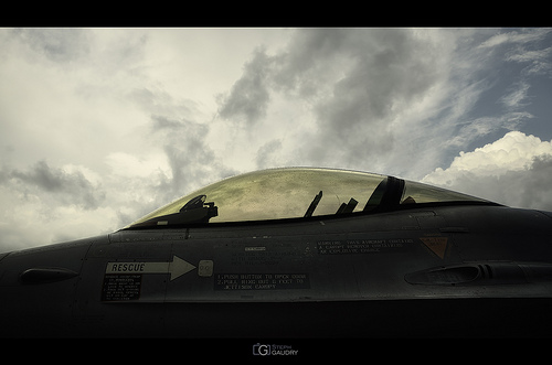 Lockheed Martin F-16AM/BM Fighting Falcon cockpit