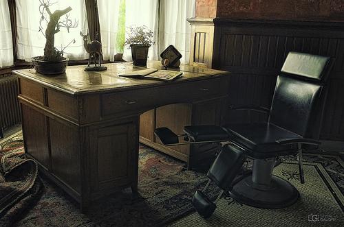 Bureau du manoir du martinet noir