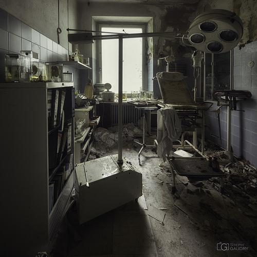 Cabinet d'urologie abandonné