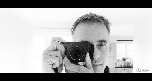 Autoportrait Lumix objectif Leica Summilux 1:1.7 24-70