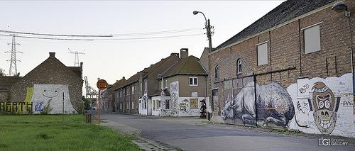 Doel, Abandoned street