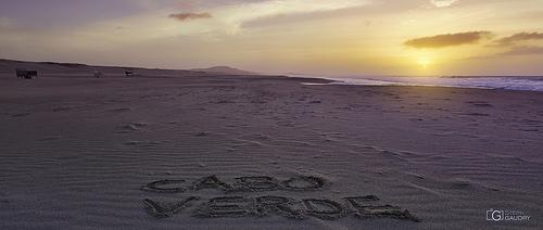 Coucher de soleil sur le Cap Vert - 2018_01_15_211104