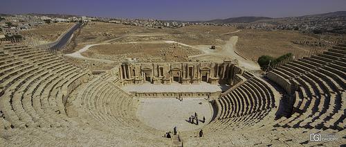 Jerash - Théâtre Sud