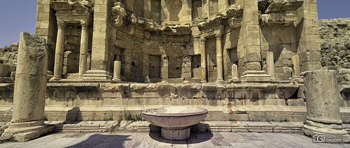 Le nympheum de Jerash