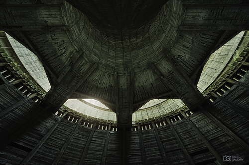 Inside the Death Star (half circle)