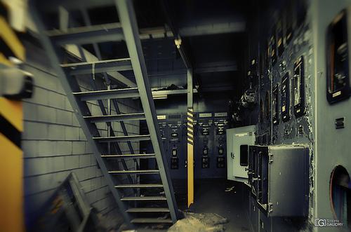 Entre la centrale et l'institut de mécanique