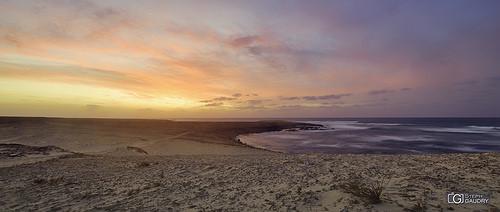 Coucher de soleil sur les plages de Morro de Areia