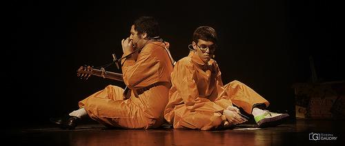 Moumou et Tocard en prison