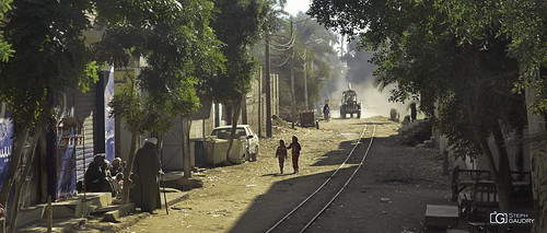 Scène de rue à Al Ma'arrī