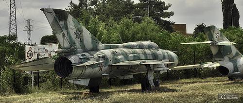 Old MiG-21