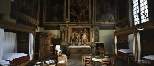 Beaune : Vue d'ensemble de la salle Saint-Hugues