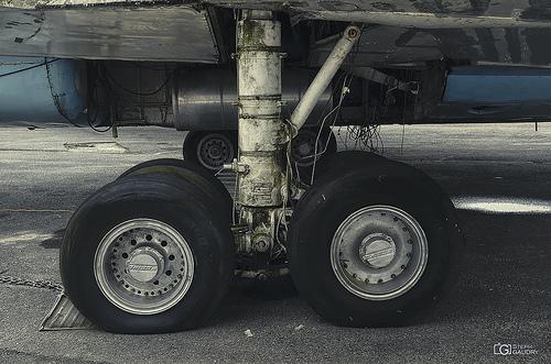 Avion qui roule n'amasse pas mousse...