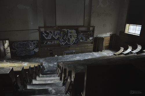 L'amphithéatre abandonné