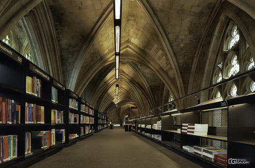 Selexyz Dominicanen: a bookshop in a former church - central