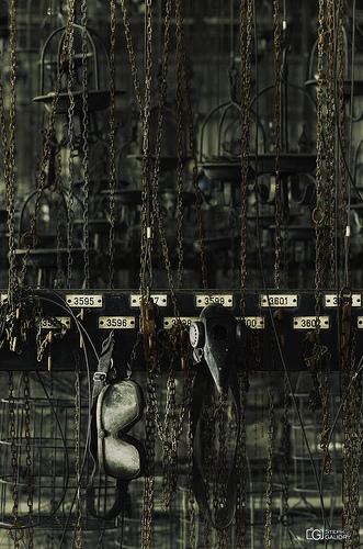 Zeche Hugo - chains