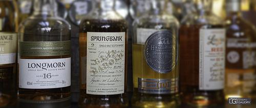 Whisky bar à l'appartement